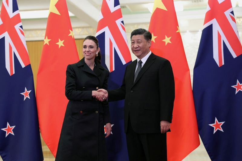 New Zealand's Ardern says differences with China becoming harder to reconcile