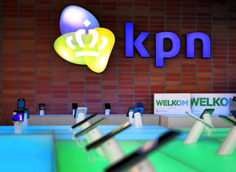 KPN shares slide after it rejects takeover offers