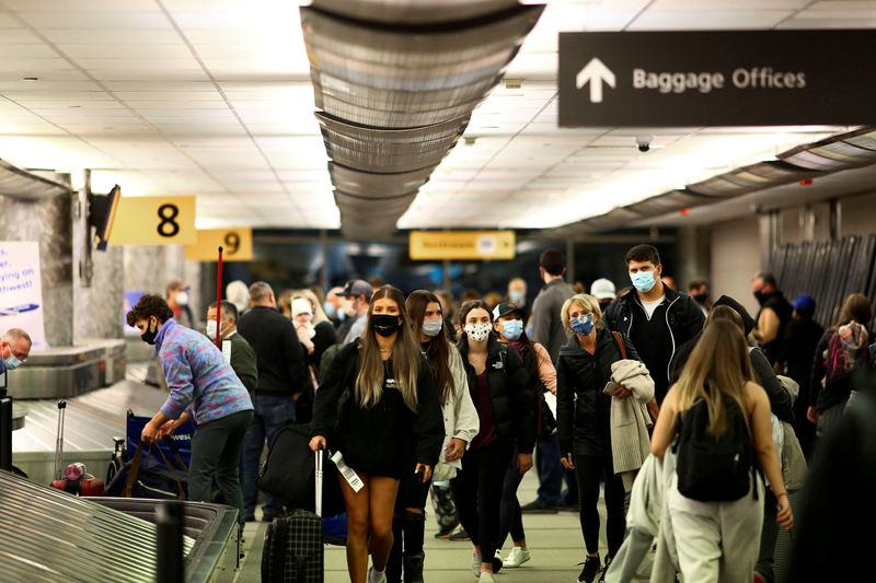 U.S. screens 1.63 million people at airports, highest since March 2020 thumbnail