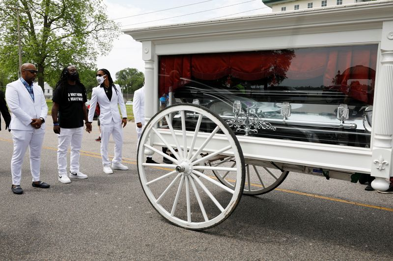 At North Carolina funeral of Black man shot dead by police, mourners call for reform