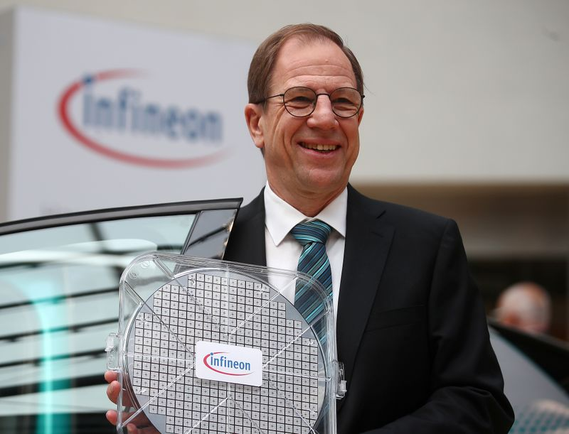 Infineon raises revenue, margin guidance on chip boom