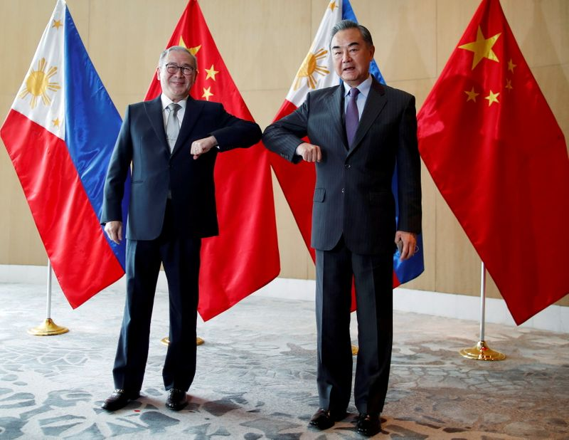 China calls for 'basic etiquette' after Philippine outburst