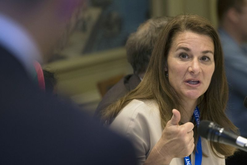 Melinda Gates sees U.S. government donating COVID-19 vaccine doses soon