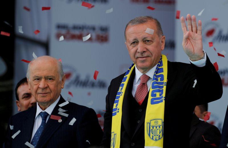 Erdogan's nationalist ally prepares draft Turkish constitution