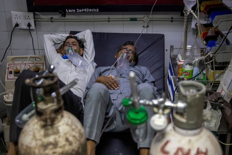 'Last resort': Desperate for oxygen, Indian hospitals go to court