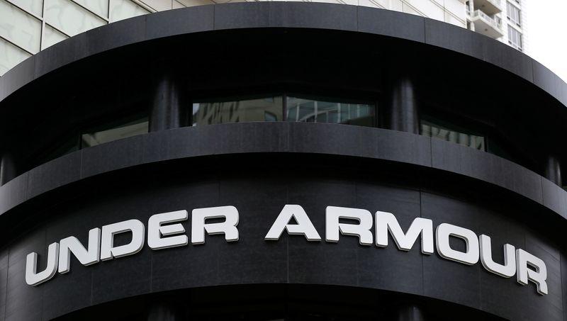 Under Armour raises annual revenue forecast as U.S., Asia markets reopen