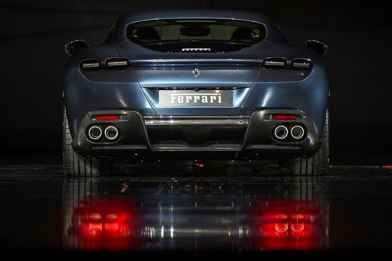 Ferrari pushes back profit goal, but keeps electric pledge