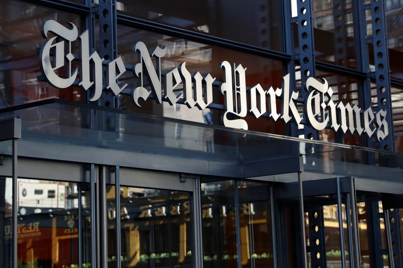 New York Times subscriber growth slows after news-heavy 2020