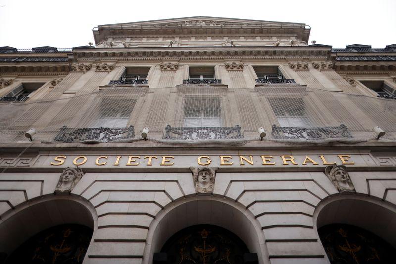 Trading rebound boosts earnings at France's SocGen