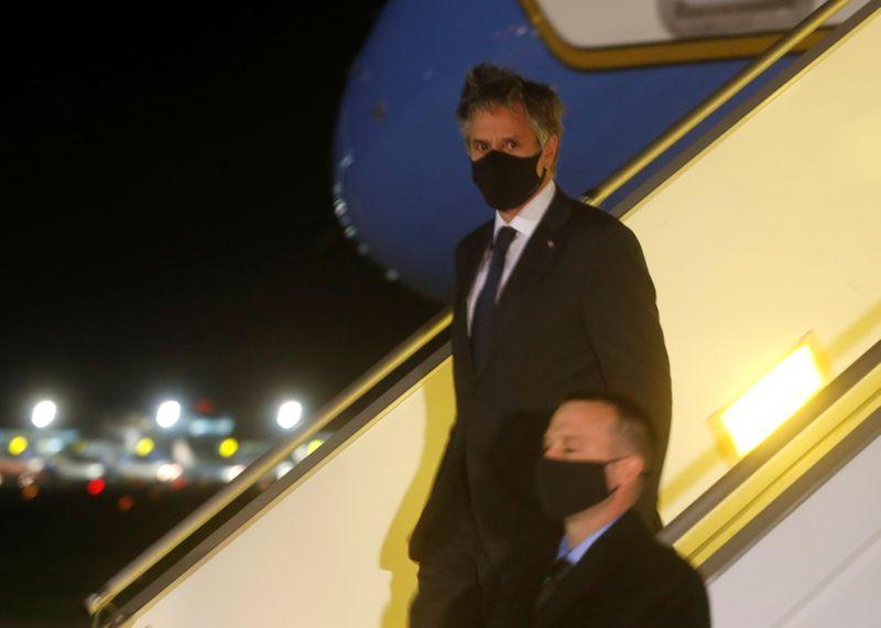 USA: Blinken se rend en Ukraine en signe de soutien