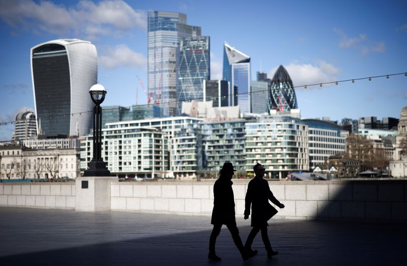 UK service sector grows at fastest pace since 2013 in April - PMI