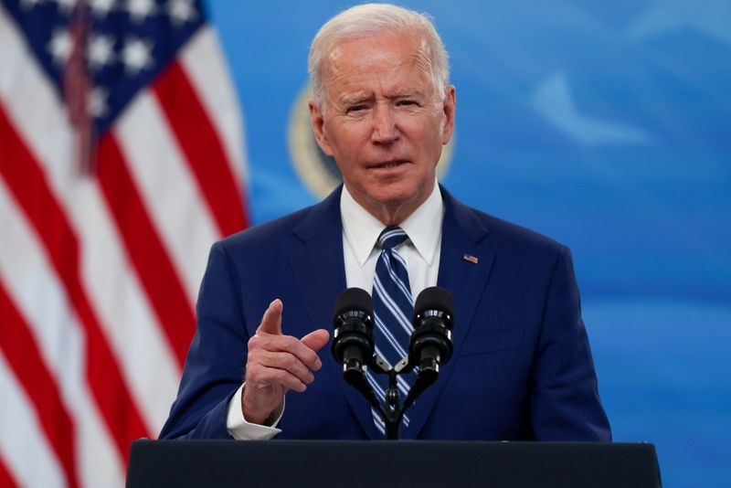 Biden says 25% to 28% corporate tax rate could pay for investments
