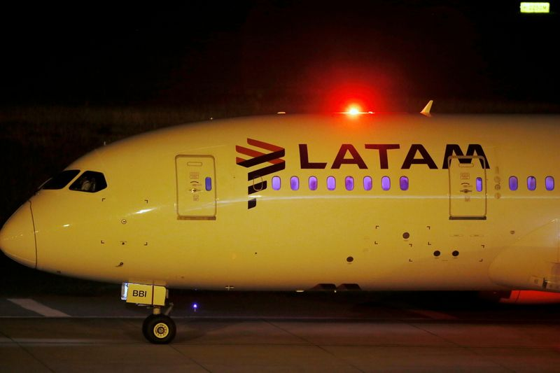 LATAM Airlines says demand for U.S. travel rising on vaccine tourism
