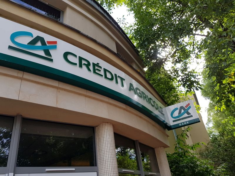 Credit Agricole's profit jumps 64%, says provisions manageable