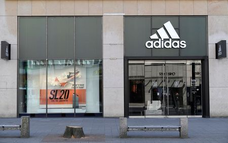 Adidas hikes outlook despite lockdowns, supply chain issues By Reuters