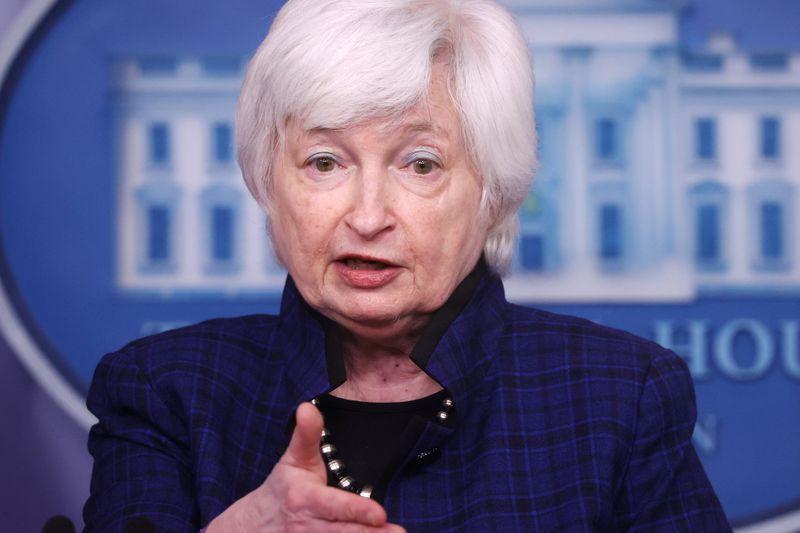 Yellen says U.S. debt ceiling could pinch in summer