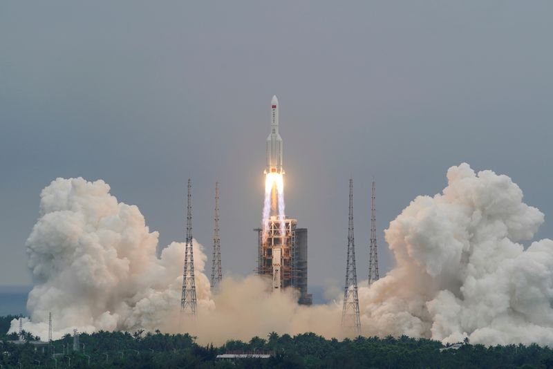 Chinese rocket debris lands in Indian Ocean, draws criticism from NASA