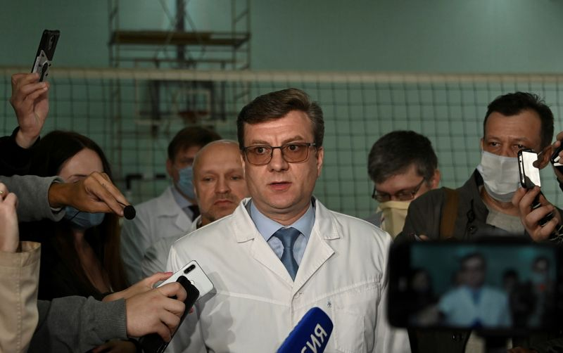 Siberian doctor who treated Kremlin critic Navalny goes missing, police say