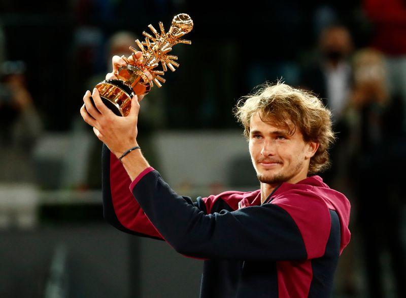テニス=ズベレフがマドリードOP優勝、「最高の気分」