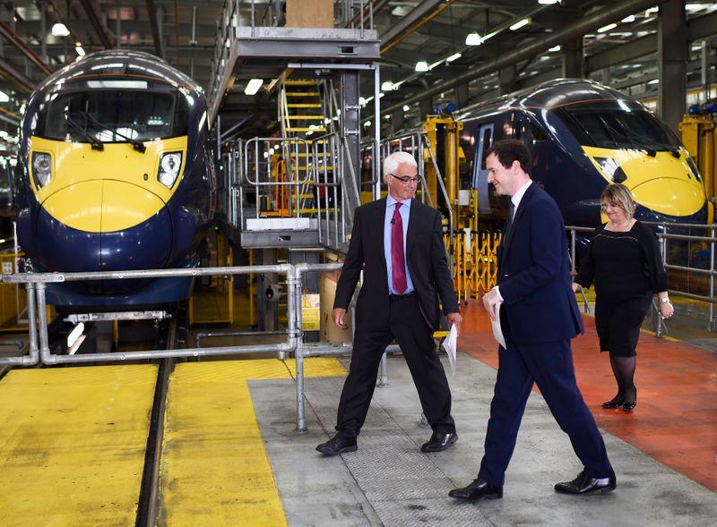 日立の英鉄道車両で亀裂、各社が運行休止 政府は対応指示