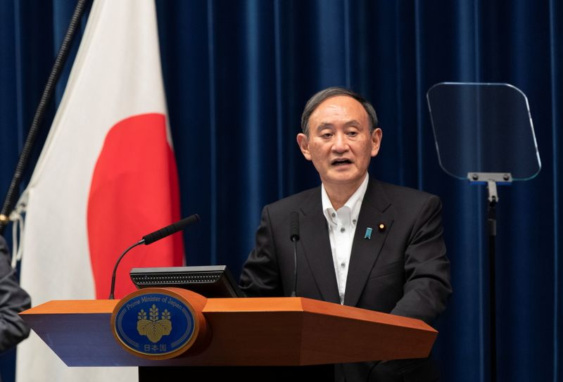 Japan PM Suga brushes aside calls for extra budget amid pandemic
