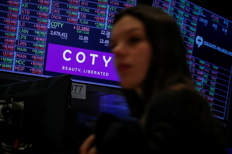 Coty's luxury brands return to growth as restrictions ease