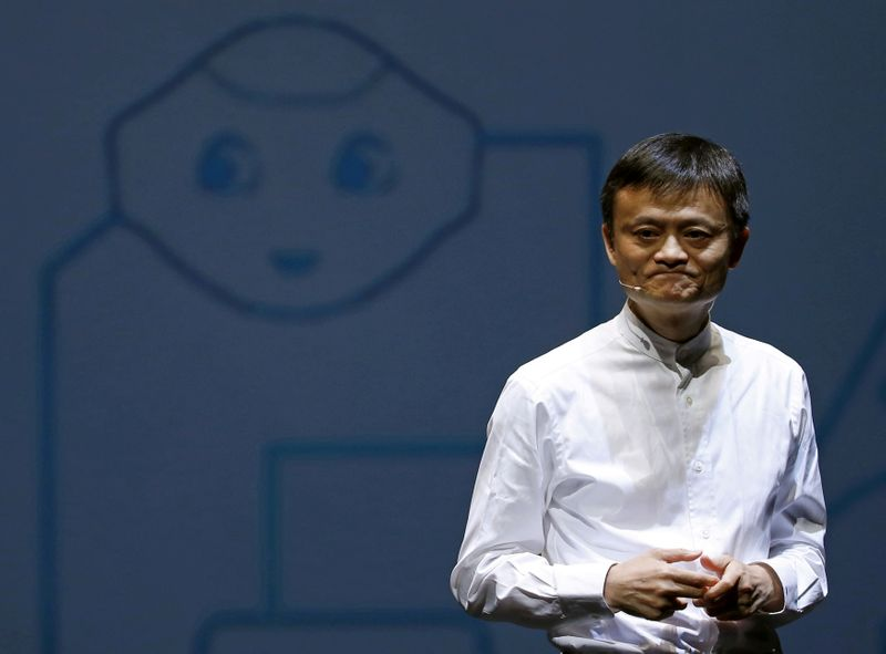 Jack Ma effectue une rare visite au siège d'Alibaba à Hangzhou
