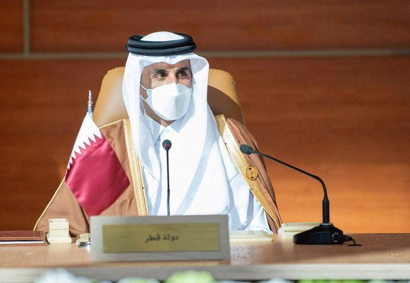L'émir du Qatar effectue une visite en Arabie saoudite