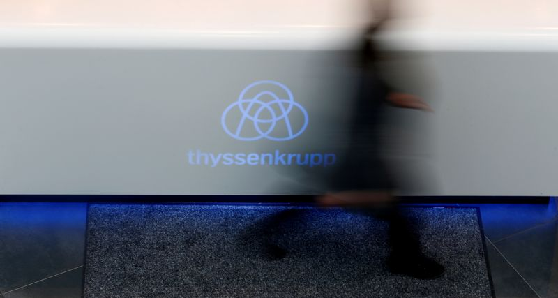 Thyssenkrupp raises outlook again as global recovery takes hold