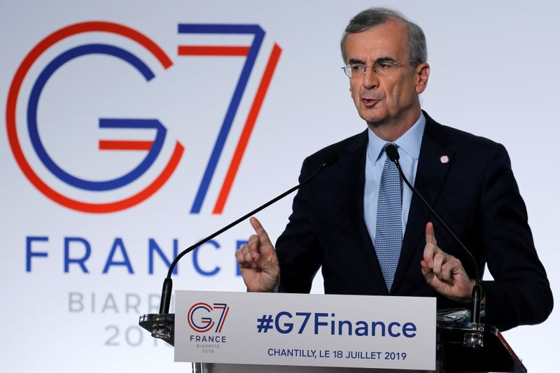 ECB tapering talk is 'purely speculative' - Villeroy