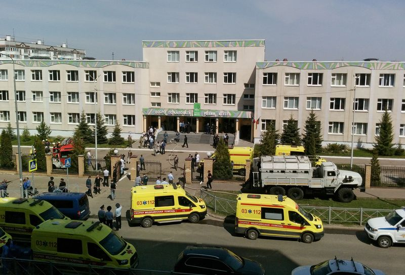 At least eight killed in Russian school shooting - local authorities