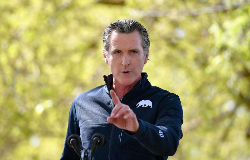 California governor announces $12 billion homeless plan