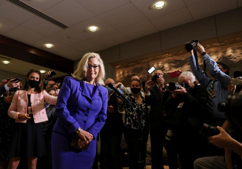Liz Cheney will run again despite ouster from Republican leadership - source