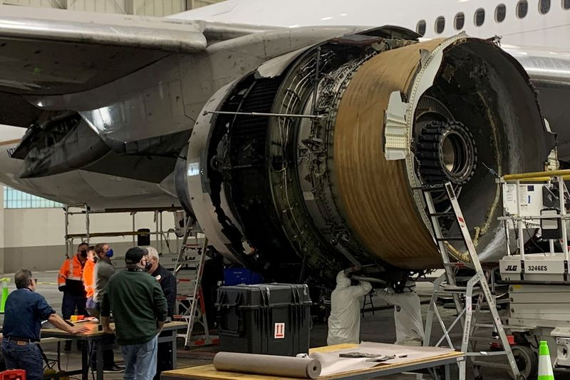 U.S. FAA to require strengthening key part on Boeing 777 engine