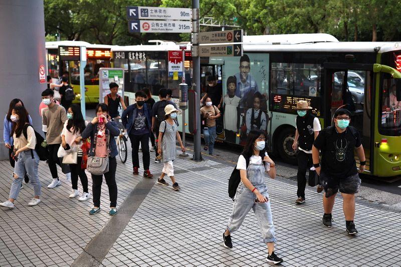 Coronavirus: Les mesures de restrictions renforcées à Taïwan