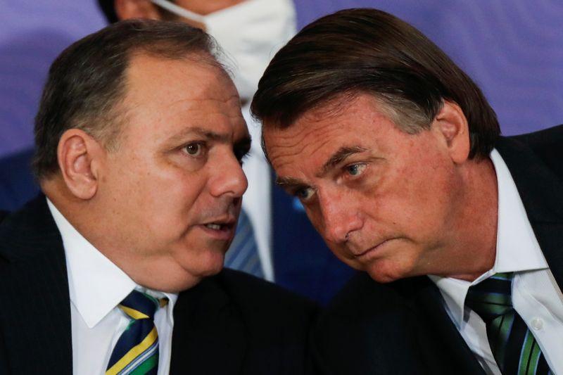 Bolsonaro ataca CPI da Covid e diz que Pazuello