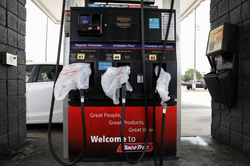 U.S. capital running out of gas, even as Colonial Pipeline recovers