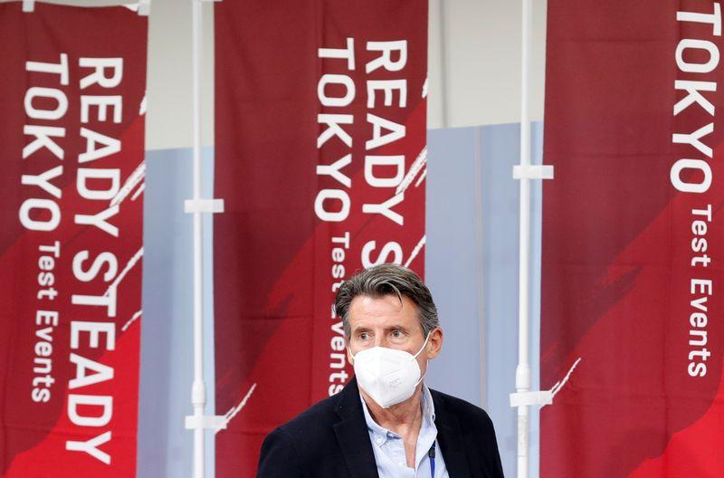 東京五輪、予定通り開催と確信 ワクチンが寄与=世界陸連会長