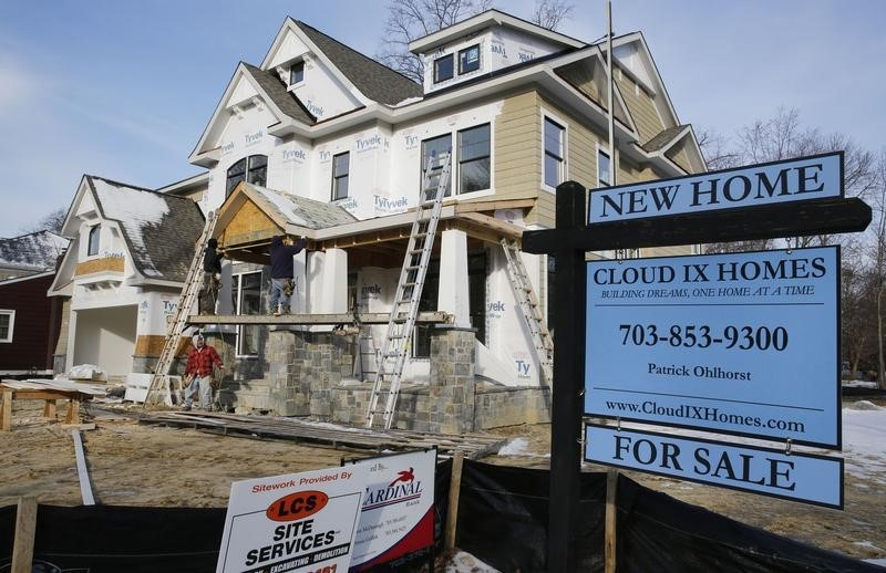 © Reuters New home for sale in Vienna, Virginia