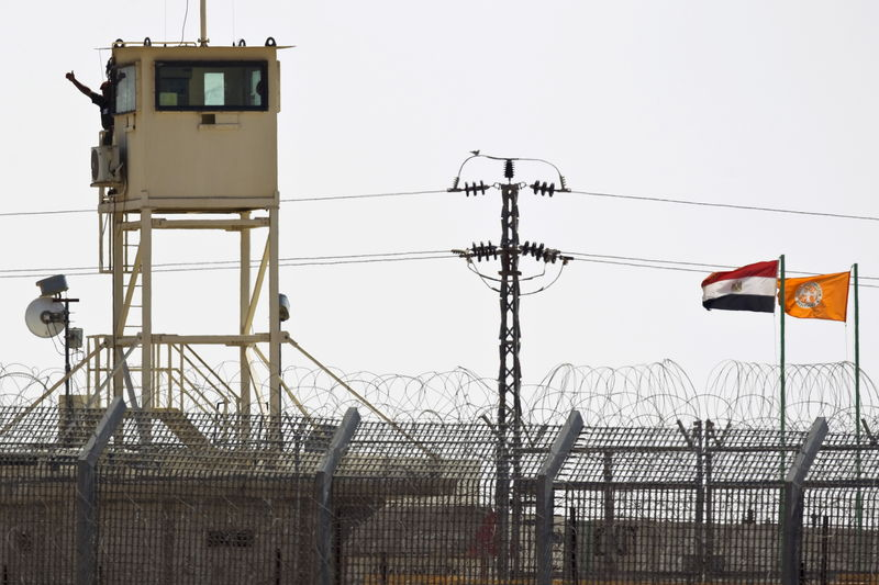 Egyptian air strikes kill 23 militants in North Sinai: sources By