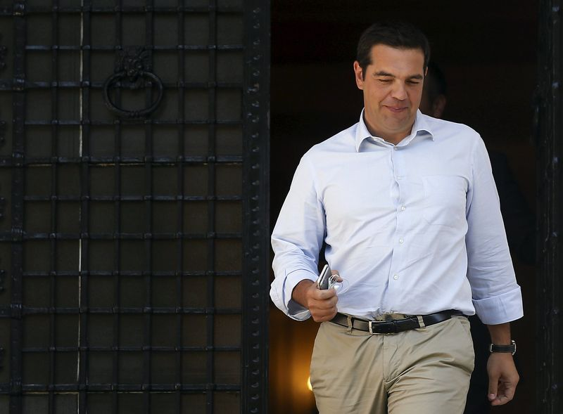 Tsipras resigns, paving way for snap Greek election