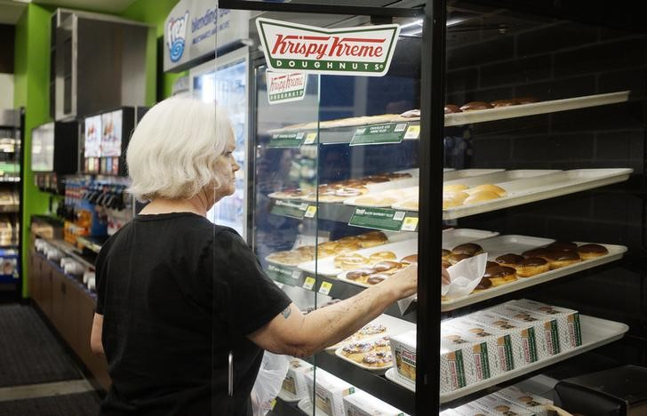 Germany's JAB to take Krispy Kreme private for $1.35 billion