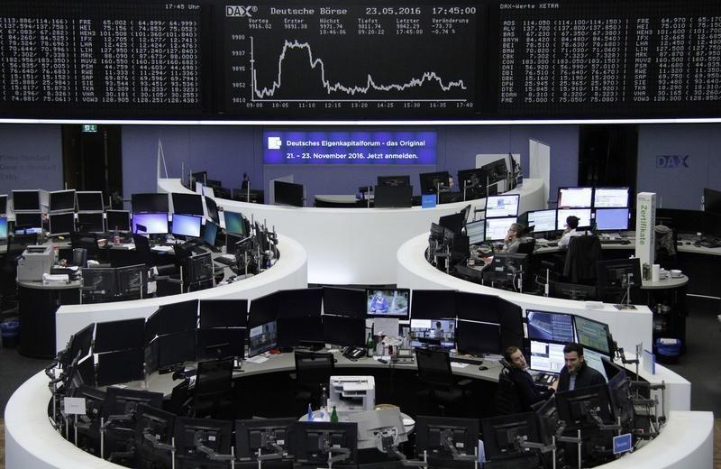 Las bolsas europeas tocan máximos de cuatro semanas con Novo Nordisk al frente