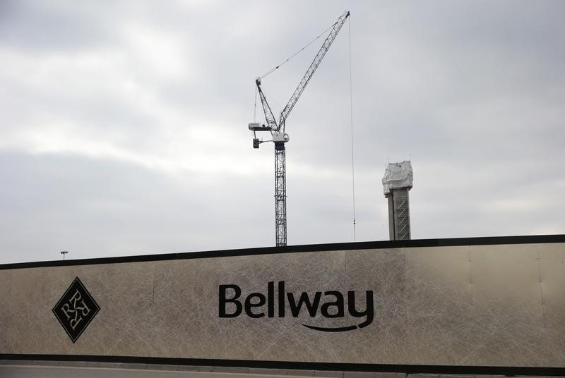 Bellway to build at least 10 percent more homes this fiscal year