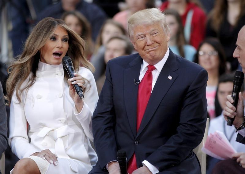 фото трампа и его супруги лечение