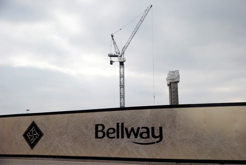 Builder Bellway says cautious over new land acquisitions after Brexit vote