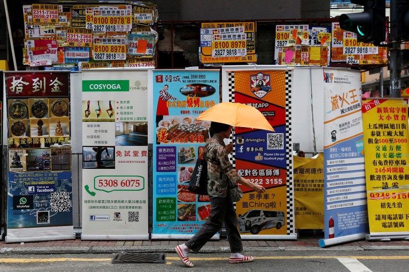 Hong Kong July retail sales fall for 17th straight month