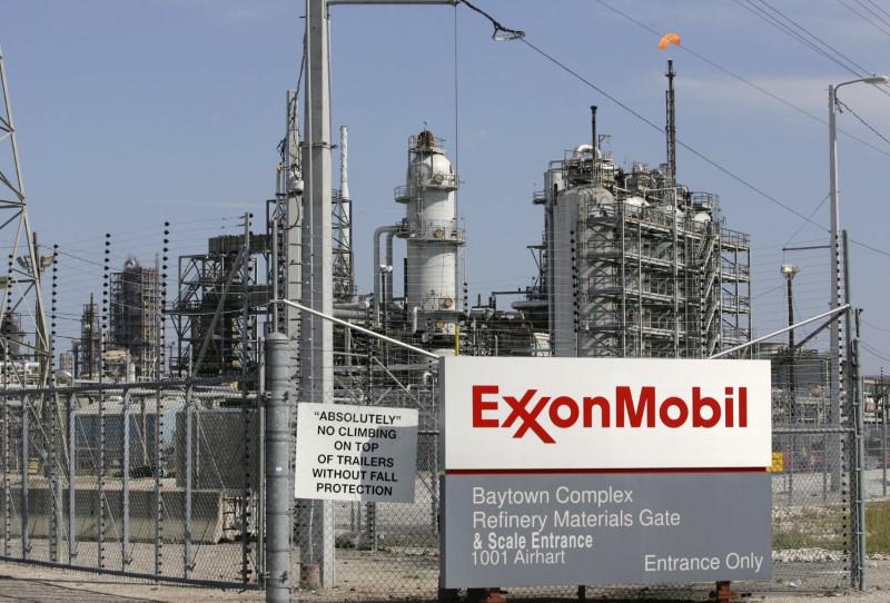 © Reuters. EXXONMOBIL ET TOTAL DISCUTENT D'UNE EXPLORATION GAZIÈRE EN GRÈCE