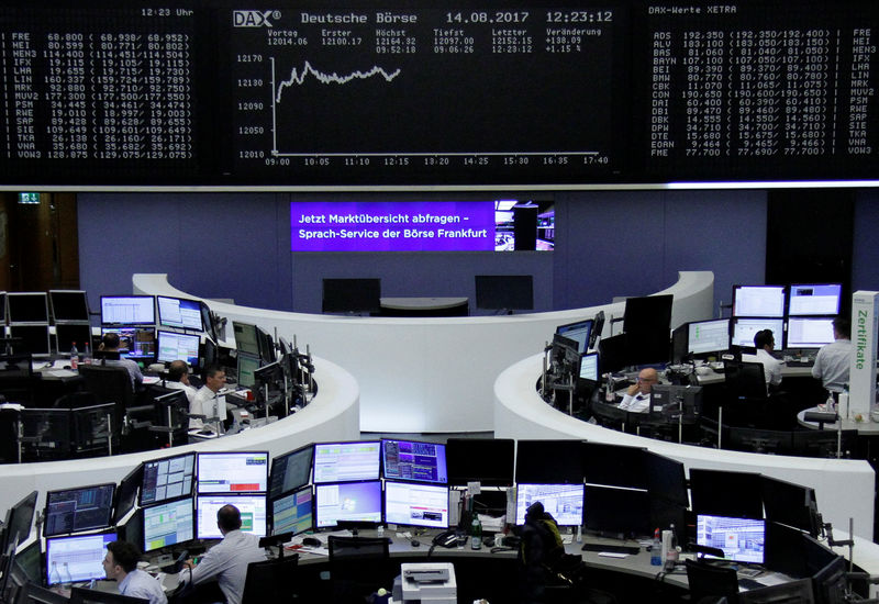 Financials and Danone help European shares edge higher, commodities weigh