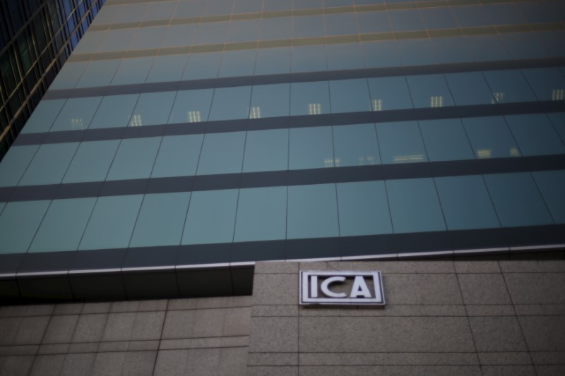 Mexico's ICA says filed pre-packaged bankruptcy plan By Reuters